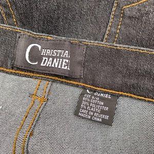 Vintage Jeans - Vintage Christian Daniel Jean Glitter Tiger Design